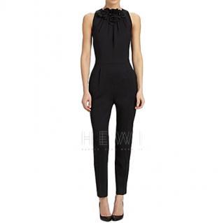 Valentino Techno Couture Rosette jumpsuit