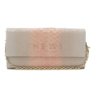 Dior Lady Dior Ombre Python Wallet On Chain