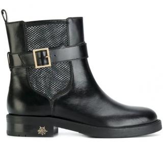 Charlotte Olympia Mesh Insert Boots