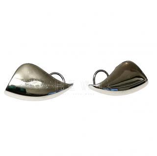 AS29 Sterling Silver Lobe Earrings