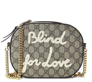 Gucci Blind For Love Monogram Camera Bag