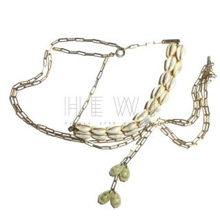 Isabel Marant Shell Pendant Necklace