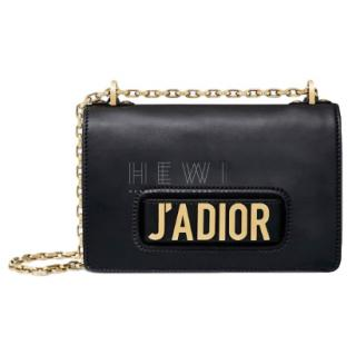 Dior Black Leather J'adior Bag