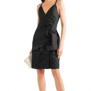 Victoria Victoria Beckham Tie Front Wrap Dress