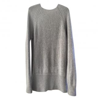 Marni Grey Cashmere Jumper