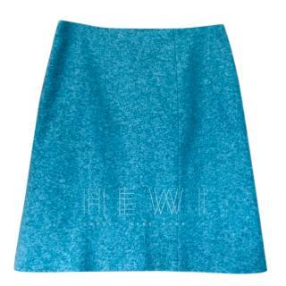 Kenzo Blue A-line Mini Skirt
