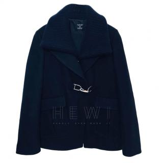 Gabriela Hearst x Barneys Navy Wool Coat