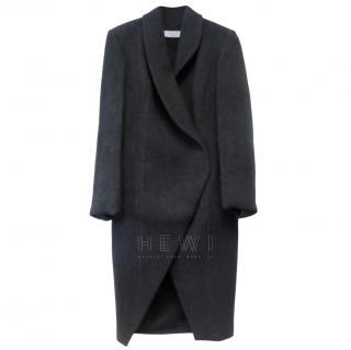 Savin London Wool Blend Cocoon Coat