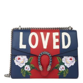Gucci Medium LOVED calfskin leather Dionysus Bag