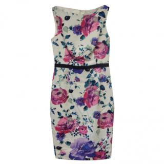 Savin London Floral Print Bespoke Dress