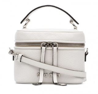 Miu Miu White Leather Mini Crossbody Bag