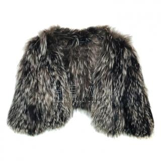 Amanda Wakeley Cropped Fur Jacket