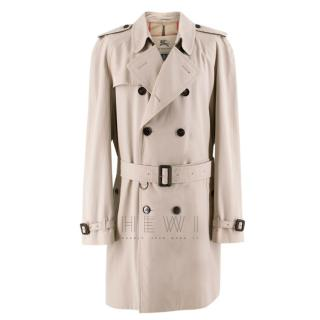 Burberry Men's Trench Coat in Honey