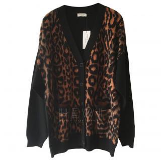 Sonia Rykiel Leopard Print New Season Cardigan