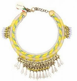Sveva Corded Fringe Necklace