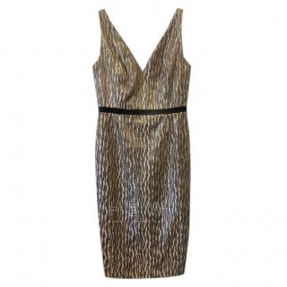 Savin London Sleeveless Fitted Dress