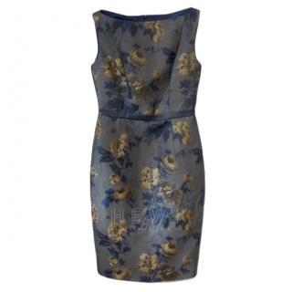 Savin London Floral Print Pencil Dress