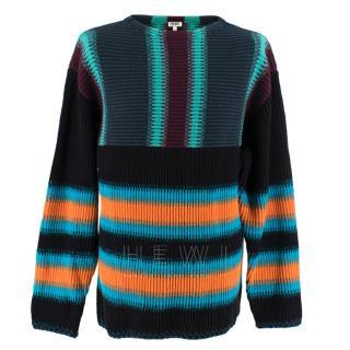 Kenzo Men's Knit Striped Sweater