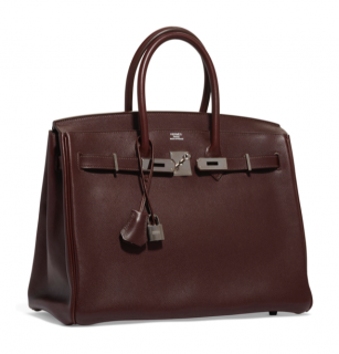 Hermes Evergrain Leather Havana 35cm Birkin