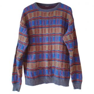Dior Vintage Men's Knit Sweater