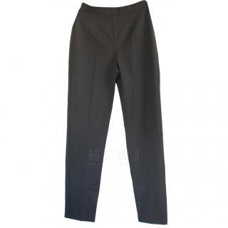 Max Mara Black High Waist Trousers