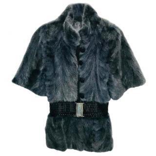 Bespoke Grey Mink Fur Gilet