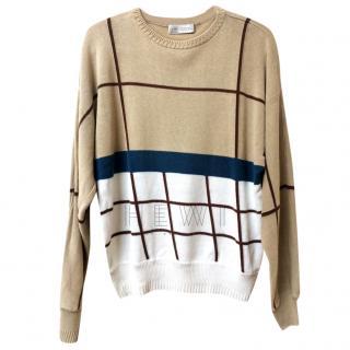 Gianni Versace Geometric Knit Sweater