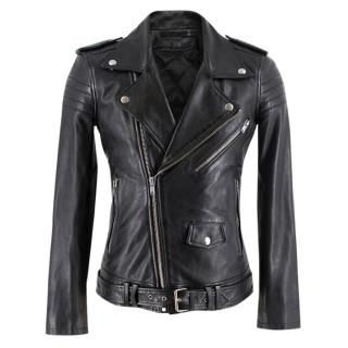 BLK DNM Leather Biker Jacket