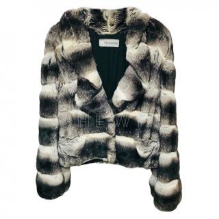 Mala Mati Chinchilla Fur Jacket
