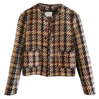 Sandro Marianne Boucle Tweed Jacket