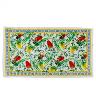 Dolce & Gabbana Sicily Peppers Print Shawl