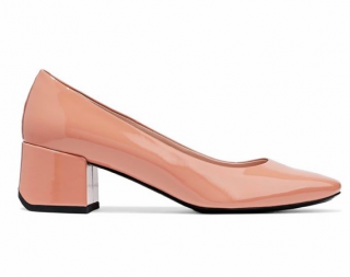 Tods Patent Leather Low Heeled Pumps