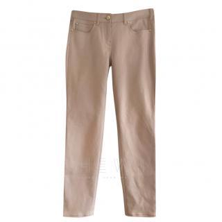 Max Mara Pink Stretch Jeans