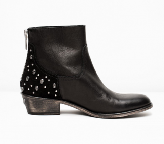 Zadig & Voltaire Leather Teddy Neo Tdm Boots