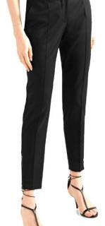 Stella McCartney Black Wool Skinny Pants