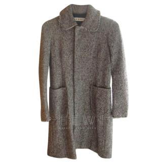 Marni Tweed Sage Coat