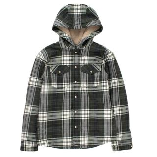 Gucci Boy's Green Plaid Jacket