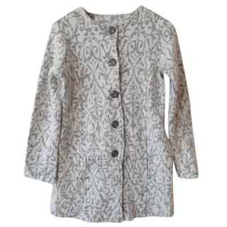 Cynthia Rowley Embroidered Coat