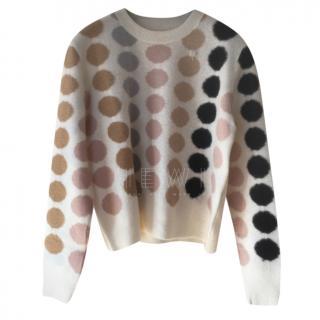 Dior Cashmere Polka Dot Sweater