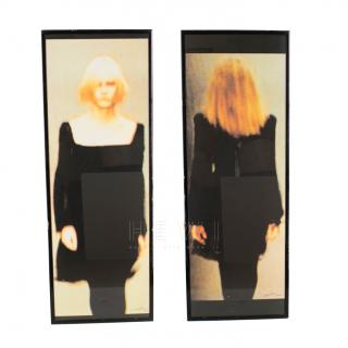 Florence Biennnale Prize winner  Model Photograph Screen Prints