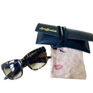 Lena Hoschek Square Tortoiseshell Sunglasses