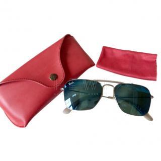 Rayban Square Aviator Sunglasses