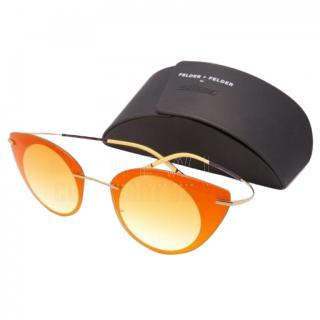 Felder Felder Silhouette Orange Sunglasses