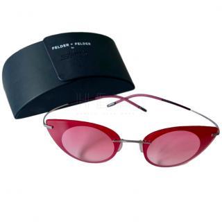 Felder Felder Silhouette Pink Sunglasses