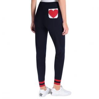 Chinti & Parker Love Heart joggers