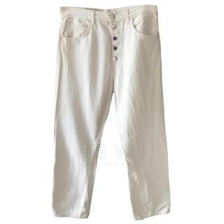 Toteme Cream Jeans