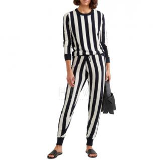 Madeleine Thompson Carinae Striped Cashmere Sweater