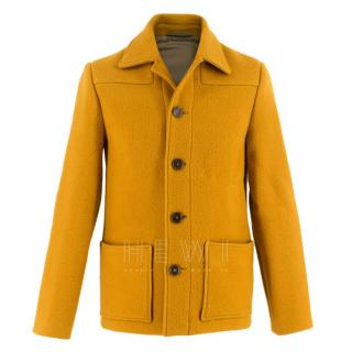 Acne Studios Wool Markus Mustard Yellow Jacket
