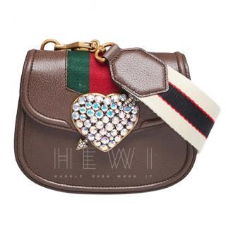 Gucci Crystal Embellished Heart Totem Bag