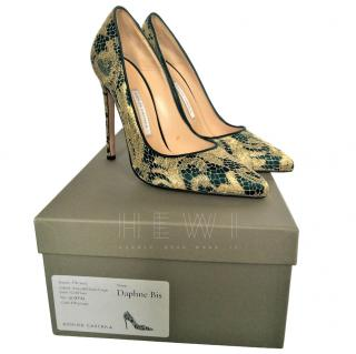 Bionda Castana Embroidered Pumps